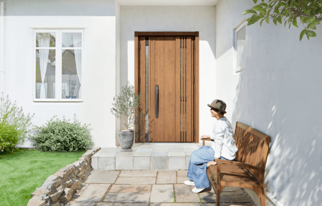 リシェント玄関ドア3