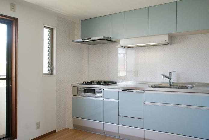 こだわりのステキなブルーのキッチン